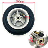 6X1 1/4 Wheels 150mm 6 inch Pneumatic Tire Inner Tube with 4 inch aluminum rims for gas electric scooters e-Bike A-Folding Bike