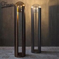 Nowoczesne przemysłowe lampy stojące do salonu lampa stojąca Retro lampa podłogowa styl japoński stojący Crystal Deco Salon Bar