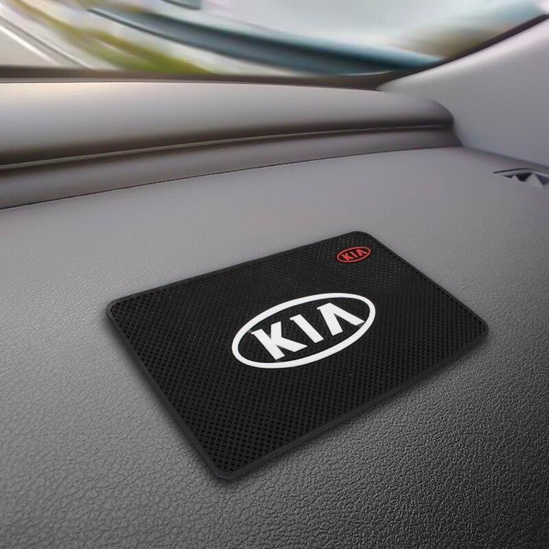 1PCS Car Anti-Slip Mat Pad Rubber Mobile Sticky Dashboard Phone Stand Non-Slip Mat Mount Bracket Non-Slip Sticky Pad For KIA
