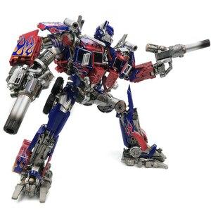 Image 2 - Com caixa de transformação wj mpm04 op optimus espadachim liga deformação crianças brinquedos figura ação robô crianças presentes