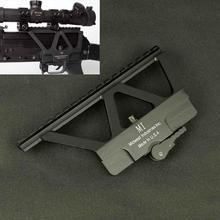 Тактический Быстрый отсоединение AK боковой рельс прицела база Пикатинни Крепление для AK 47 AK 74 Охотничья винтовка прицел пистолет аксессуары