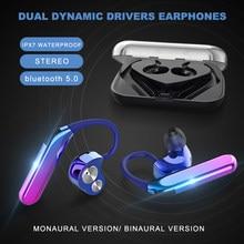 X6 Gancio Dell'orecchio Auricolari Wireless di Musica Del Trasduttore Auricolare Impermeabile Auricolari Sport Cuffie Funziona su Tutti Gli Smartphone Auricolare Bluetooth