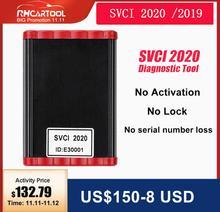 FVDI SVCI 2020 V38.1 OBD2 programmateur de clé, avec fonction VVDI2 V2014 SVCI 2018, abrites commander pour mise à jour vag non limités