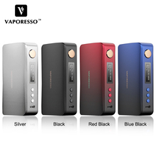 NEW!!! Original Vaporesso GEN TC Mod 220W Box Vape Mod Electronic Cigarette Fit Dual 18650 Batteries For  SKRR S Tank Atomizer original aspire speeder 200w box mod electronic cigarette vape mod match for athos tank digiflavor siren without 18650