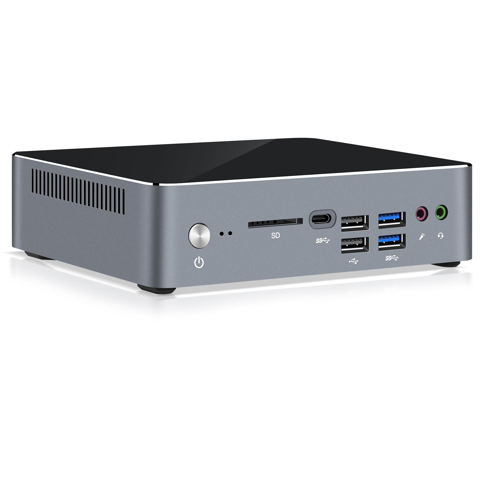 Chatreey mini pc i7 10510U i5 10210U Nvme SSD Windows 10 gaming desktop computer HTPC Dual Ram max 64GB