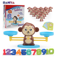 Dog Balance Math Kids Educational Toys for Children Preschool Education Match Balancing Scale Number Game Learn Add and Subtract