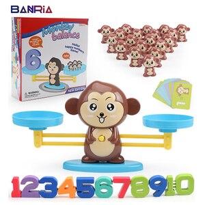 Image 1 - Hond Balance Math Kids Educatief Speelgoed Voor Kinderen Voorschoolse Onderwijs Wedstrijd Balancing Schaal Nummer Spel Leren Optellen En Aftrekken