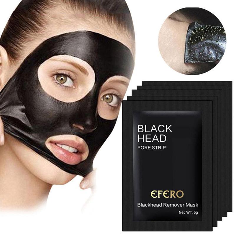 Bamboo Charcoal Blackhead Remove Facial Masks New Suction Face Deep Cleansing Facial Mascara Black Head Brightening Facial Mask