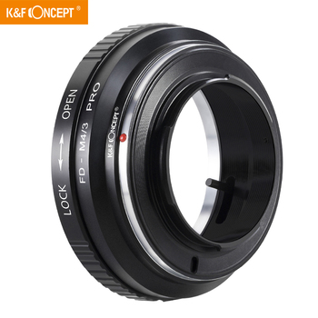 K&F Concept FD to MFT Lens Mount Adapter for Canon FD FL Mount Lens to M4/3 M43 Micro Four Thirds Mount Cameras for Olympus PEN 7artisans 25mm f1 8 prime lens to all single series for e mount canon eos m mout micro 4 3 cameras a7 a7ii a7r free shipping