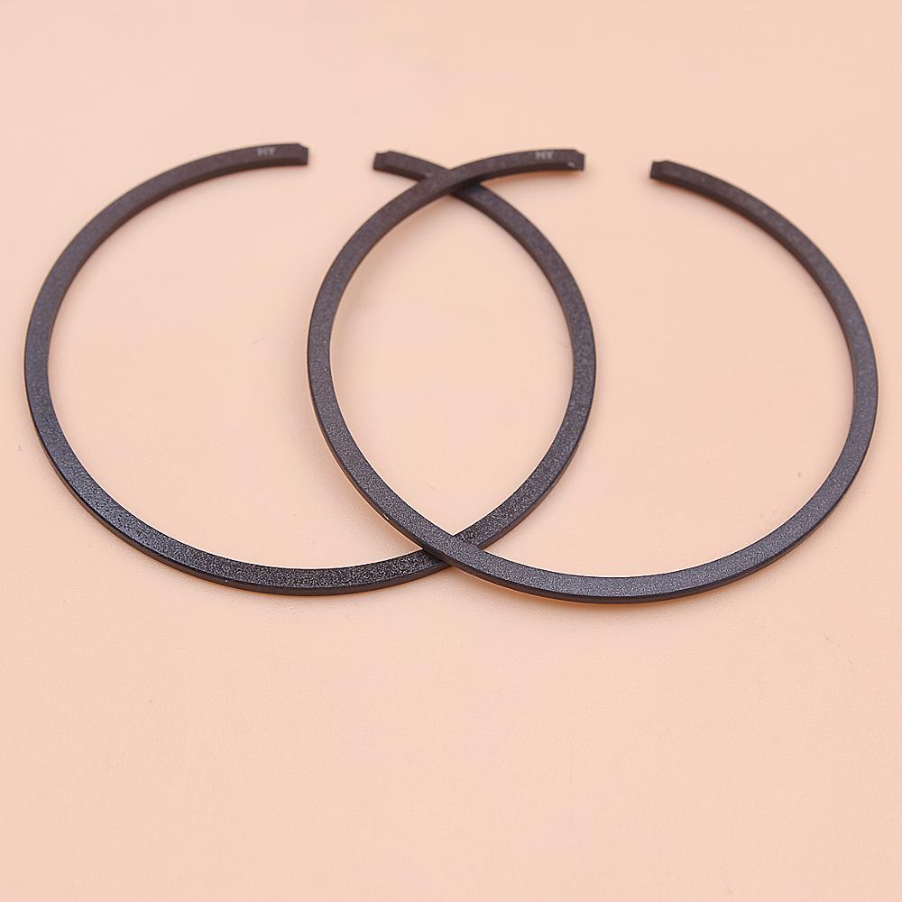 2pcs/lot 44mm X 1.2mm Piston Rings For Stihl 026, 026 Pro, MS251, MS 251 Chainsaw Tool Part 1121 034 3010