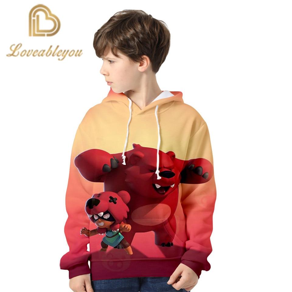 2020 New Shooting Game Children Hoodie Boys Girls Cosplay Crow 3d Sweatshirts Hoodies Casual Kids Streetwear Pullover 4XL Tops