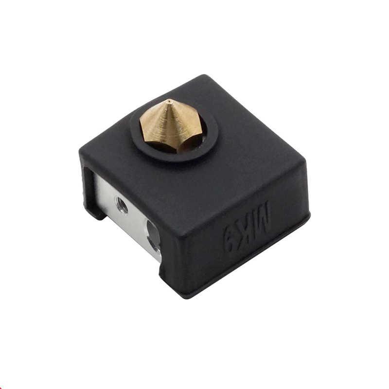 K 2pcs Durevole 3D Stampato Accessori Della Copertura Del Silicone Hot End Calzino Coperture Per Creality CR-10 10S S4 S5 ender 2/3/4/5 Pro!