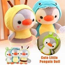 Милая мультяшная кукла Пингвин, плюшевая игрушка для детей, милая мягкая плюшевая кукла, игрушки, супермягкая Подушка Пингвин, детские пода...