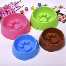 Dish Food-Bowls Eating-Feeder Bowel Feeding Dogs-Supplies Puppy Slow-Down Obesity Portable