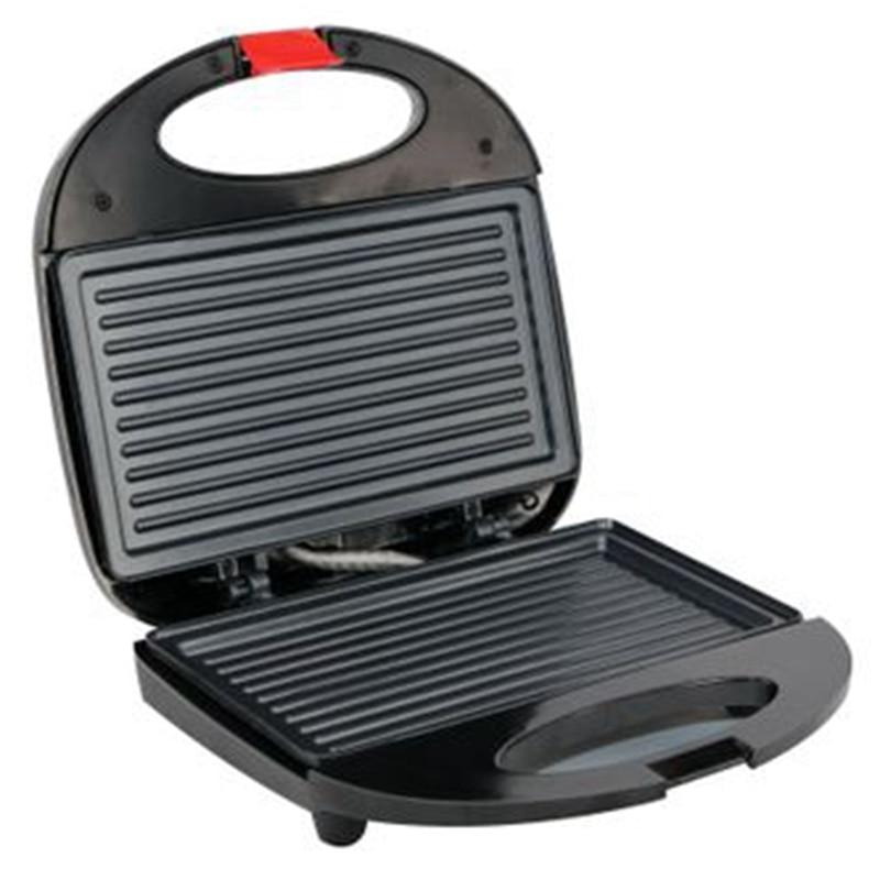 Multi Function Electric Mini Curved Stripe Waffle Sandwich Machine(Eu Plug) on LICE Specialist Appliances Store