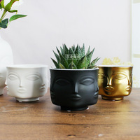 Porcelain nordic creative flower pot plant pots for flowers pots planters for succulents colgador de plantas home decoration