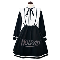 2020 New Anime Re:Life in a different world from zero Cosplay Costume Rem Apron Dress Sweet Lady Party Dress