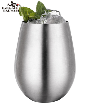 2 Styles Hot Sale Stainless Steel 304 Milk Cold Drinking Whisky Beer Cup Creative Egg Shape Coffee Tea Mug 200ml hot sale creative home decoration 3d resin skull shape stainless steel wine goblet