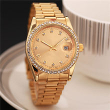 Diamond watch master watch 38 mm rainbow ring automatic dating luxury fashion men and women strip sports quartz clock men's watc(China)