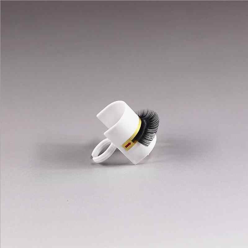 Hot Jual Lash Pallet + Cincin 2 Pcs/set Ekstensi Bulu Mata Lem Cincin Perekat Bulu Mata Pallet Pemegang Set Makeup Kit Alat make Up