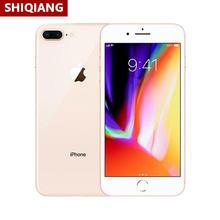 Original Apple iphone 8Plus teléfono celular Global 3GB + 64GB/256GB 7.0MP + 12.0MP Smartphone A11 + M11 NFC 2675mAh de reconocimiento de huellas dactilares