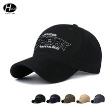 Spring and autumn new cotton baseball cap men and women leisure sports sun visor three-dimensional embroidered hat hat new men s baseball cap spring and autumn outdoor sports and leisure old man dad single cap