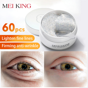 Image 1 - MEIKING Eye Mask Collagen Remover Dark Circles Eyes Patches Hyaluronic Acid Nicotinamide Anti Puffiness Anti Aging Eyes Care60pc
