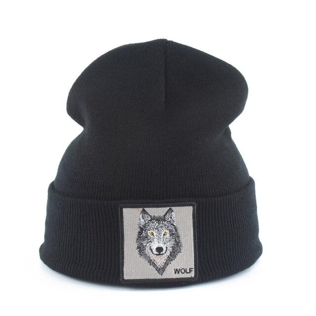 Wolf Beanie 8