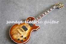 High Quality Natural Wood Suneye Custom Electric Guitar Block Pearly Inlaid Rosewood Fretboard In Stock стоимость