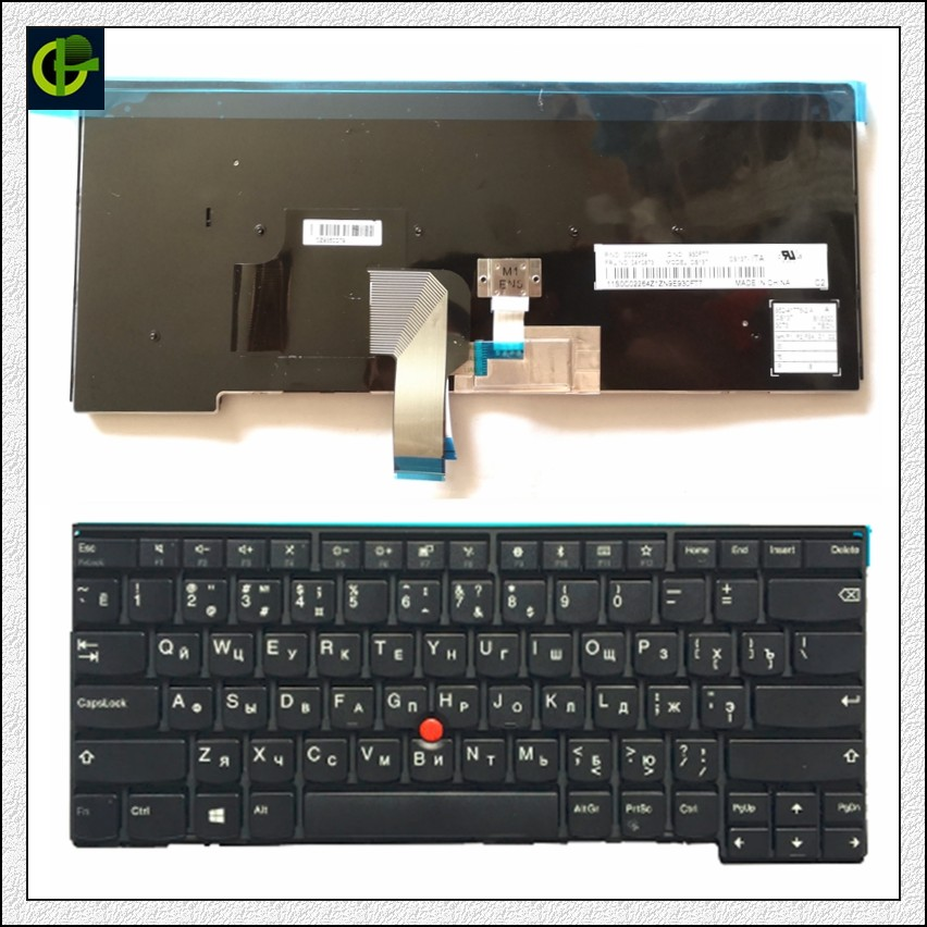 Русская клавиатура для ноутбука lenovo ThinkPad L440 L450 L460 L470 T431S T440 T440P T440S T450 T450S e440 e431S T460 RU Клавиатура ноутбука