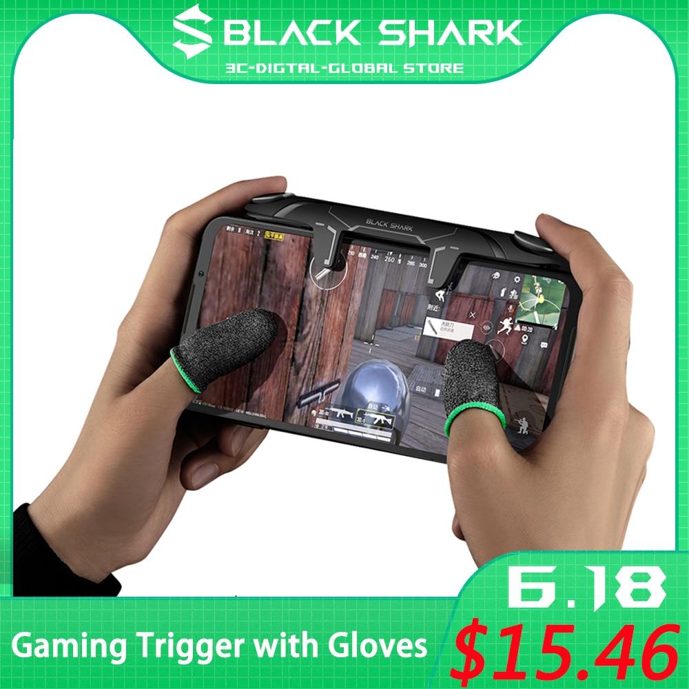 Оригинальный игровой джойстик Black Shark с плечевым триггером, игровой контроллер для iPhone Xiaomi Black Shark 3 3s 3 Pro с перчатками
