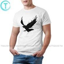 Raven T Shirt Raven T-Shirt Fun Graphic Tee Shirt Casual 4xl Men 100 Cotton Short Sleeves Tshirt