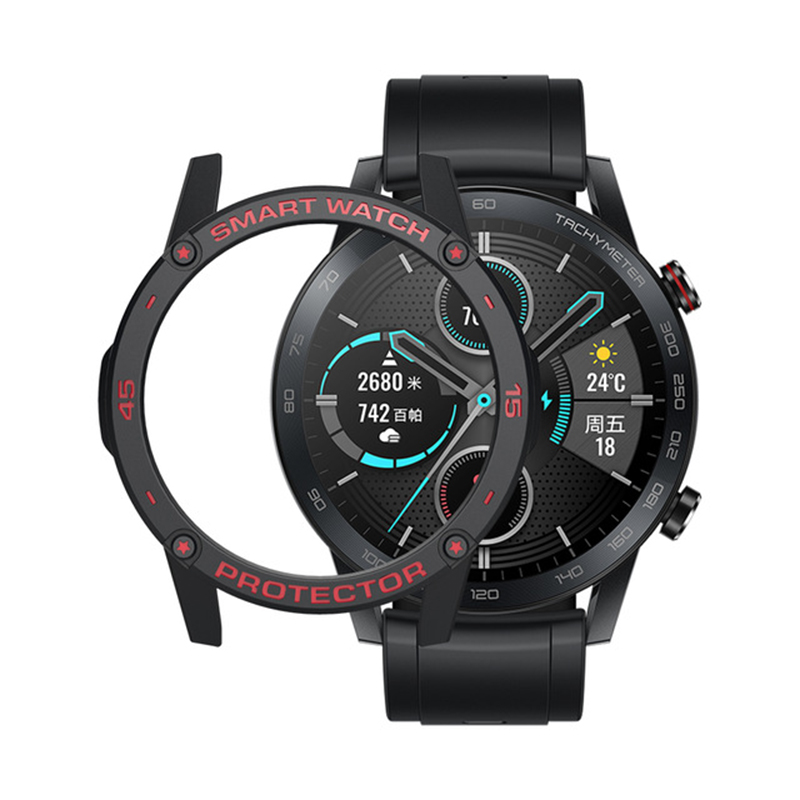 SIKAI Colorful Watch Case Cover For Huawei GT2 46mm Magic 2 GT2 TPU Protective Watch Cover Smart Watch Accessories