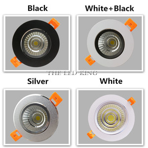 Image 3 - Dimmable LED Downlight COB Ceiling Spot Lighting 6W 9W 12W 15W Led Bulb Bedroom Kitchen Indoor ceiling recessed Lights