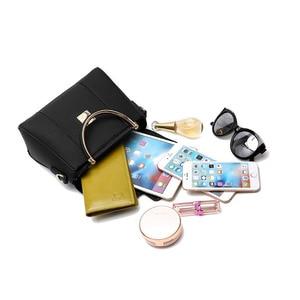 Image 5 - حقائب النساء بولي Leather حقائب كتف متنقلة جلدية سيدة حقائب اليد عالية الجودة موضة حقيبة الإناث حقائب كروسبودي للنساء 2020