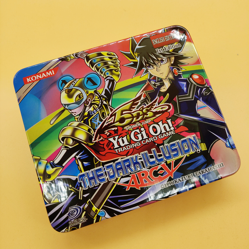 NEW English Version 71PCS Duel Monsters YU GI OH Game Collection Carte Trading Cards Game With Beautiful Iron Box