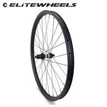 Juego de neumáticos asimétricos para bicicleta de montaña, 29er de carbono XC/AM de 36mm de ancho y 24mm de profundidad con buje de MTB DT350S
