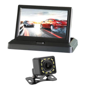Dvd-Player Monitor Car-Display Digital-Screen Folding Video-Input 5inch New DC Color