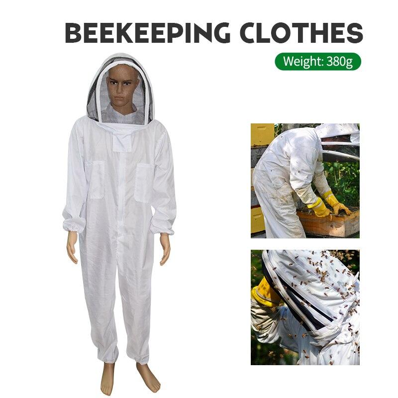 Beekeeping Clothing Veil Hood Hat Clothes Jacket Protective Beekeeping Suit Beekeepers  Equipment