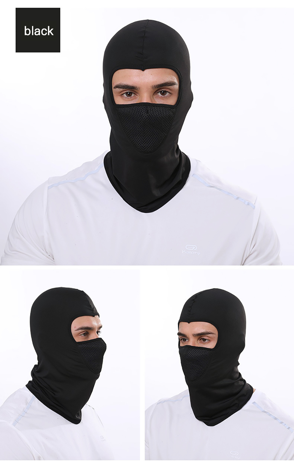 H87fba0b3cdd440b6baedb7052bfa9f572 Zacro Outdoor Cycling Hooded Training Mask for Men Women Summer Sport Facemask Windproof Sunscreen Dustproof Bicycle Ski Mask