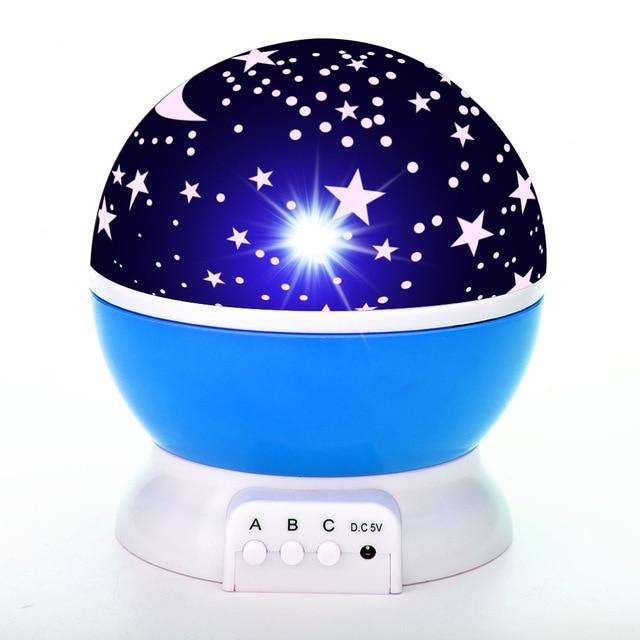 LED Star Projector Planetarium Projector Kids Room Decoration Starry Night Lamp Galaxy Light Luminaria Original Home Planetarium
