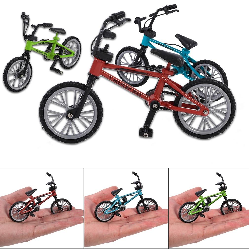 3 Stücke Metall Finger Fahrrad Spielzeug BMX Fahrrad Spielzeug Set für