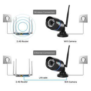 Image 5 - BESDER 5MP IP המצלמה Wifi חיצוני IR ראיית לילה Onvif P2P אודיו טלוויזיה במעגל סגור מצלמה כרטיס Sd 1080p HD אלחוטי Icsee וידאו מעקב