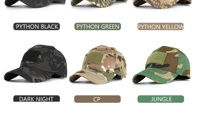 17 Colors Camo Men's gorras Baseball Cap Male Bone Masculino Dad Hat Trucker New Tactical Men's Cap Camouflage Snapback Hat 2020 4