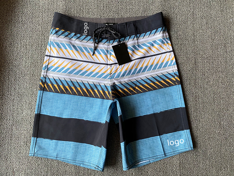 Shipping Discount 2021Summer 4Way Stretch Luxury Surf Bermuda Beach Shorts Mens Swimming Trunks Casual Pants Runing Gym Sports