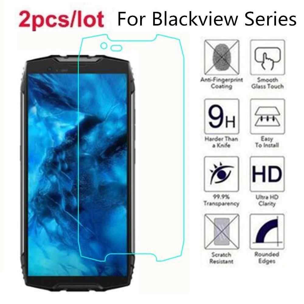Gehärtetem Glas Für Blackview A60 2.5D Premium Screen Protector Film Auf Blackview BV5500 BV9600 BV5800 BV6800 BV9500 BV9600 Pro
