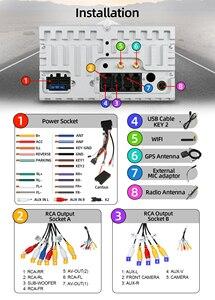 Image 5 - Bosion 2 דין אנדרואיד 10 רכב נגן DVD GPS Navi USB RDS SD WIFI BT SWC עבור פורד מונדיאו פוקוס גלקסי אודיו רדיו סטריאו ראש יחידה