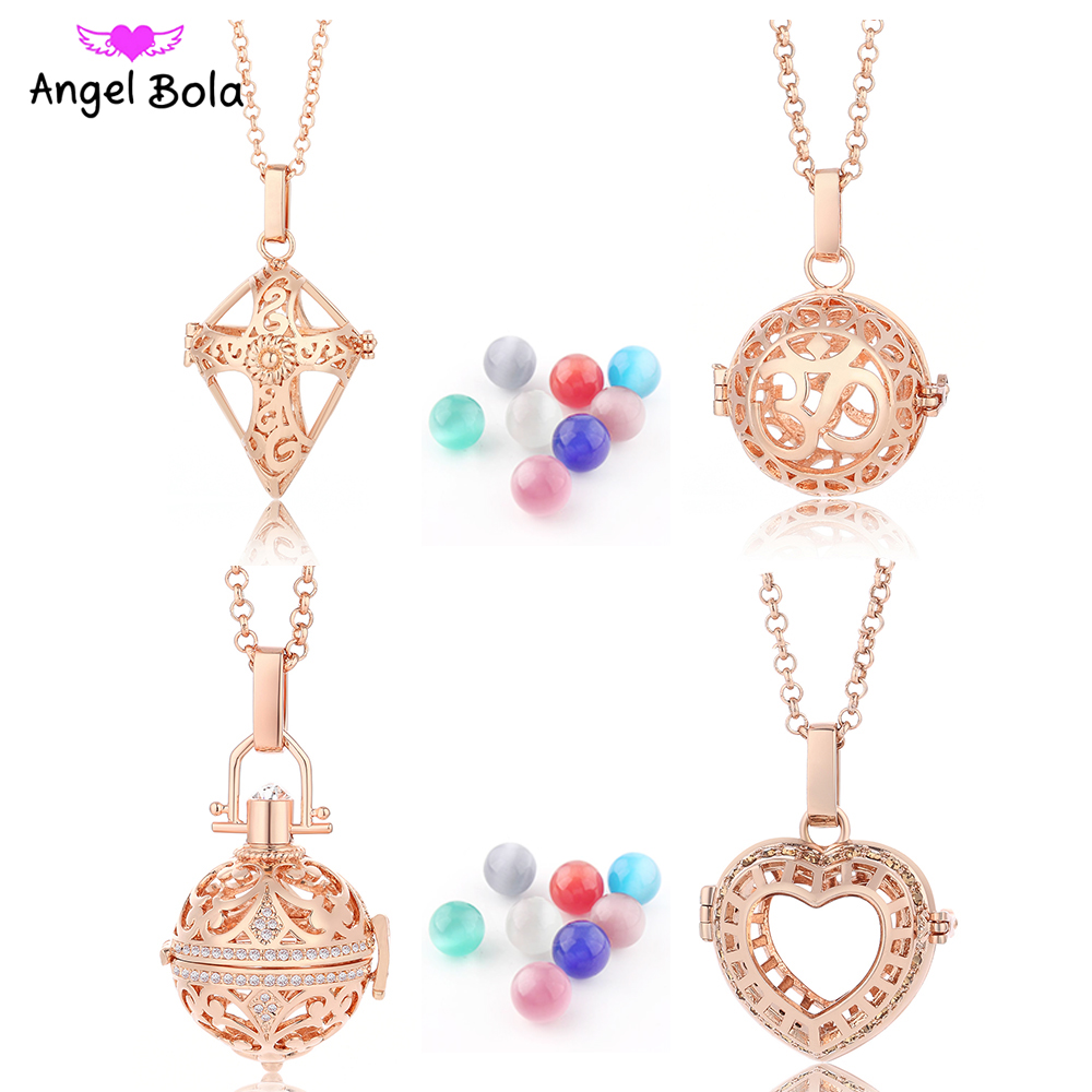 BFF Jewelry Aromatherapy Essential Oil Necklace Diffuser Locket Creative Leopard Head Pendant Necklaces