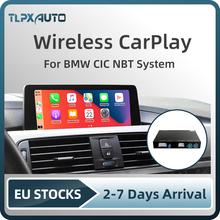 Bezprzewodowy Apple CarPlay Android Auto dekoder Box dla BMW E60 E70 E71 E84 F01 F02 F10 F11 F20 F25 F26 F30 F31 NBT System CIC tanie tanio TLPXAUTO CN (pochodzenie) Jeden Din PCBA 12 v Chiński (uproszczony) French Turkish Spanish Włoski english