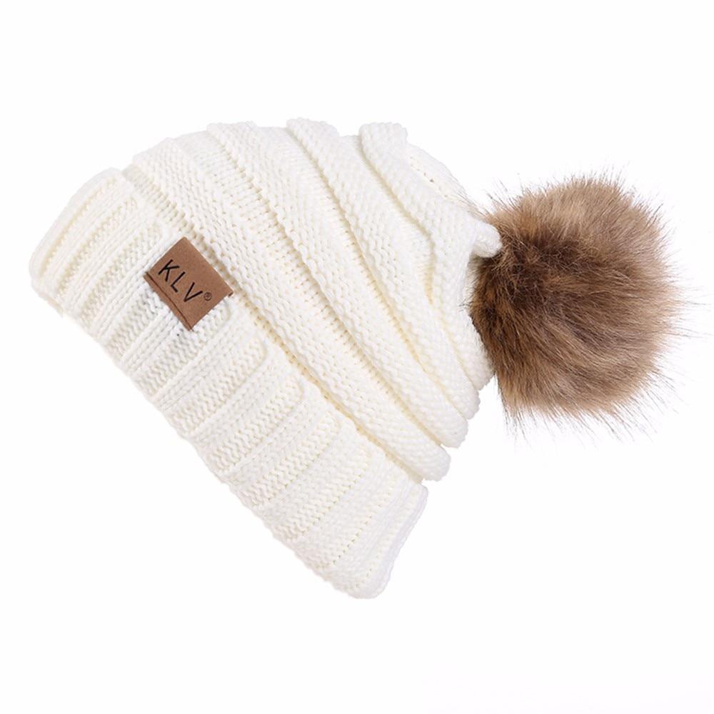 Zerotime #H501 2019 Men Women Baggy Warm Crochet Winter Wool Knit Ski Beanie Skull Slouchy Caps Hat шапка Autumn Free Shipping